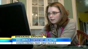 Ms America Contestat 2013 Alexis Wiseman Autistic