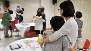 South Korean parents bring their children to a smartphone addiction clinic