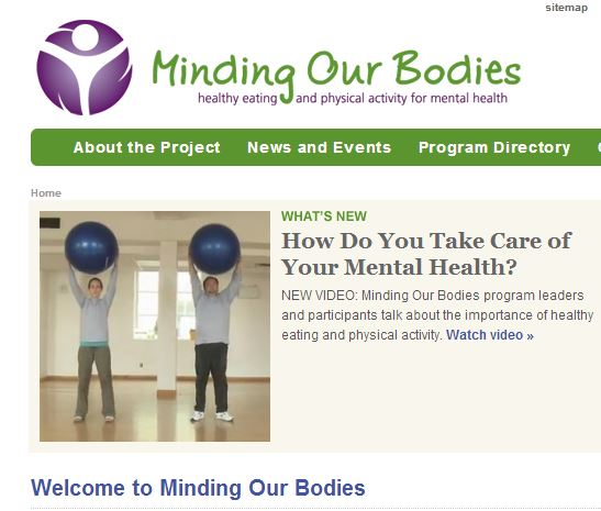 Minding our bodies CMHA